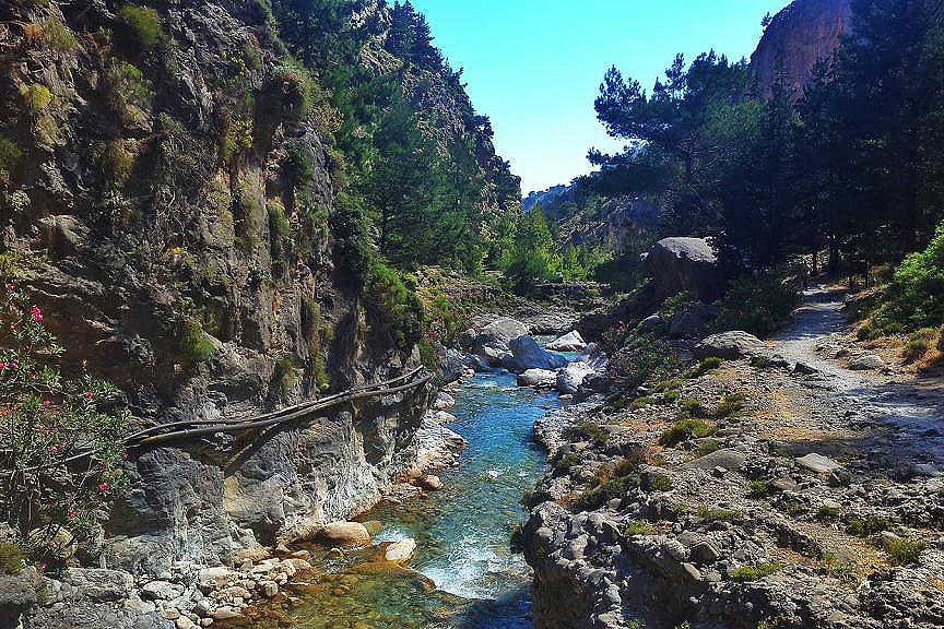 The Unique Tour of Samaria Gorge
