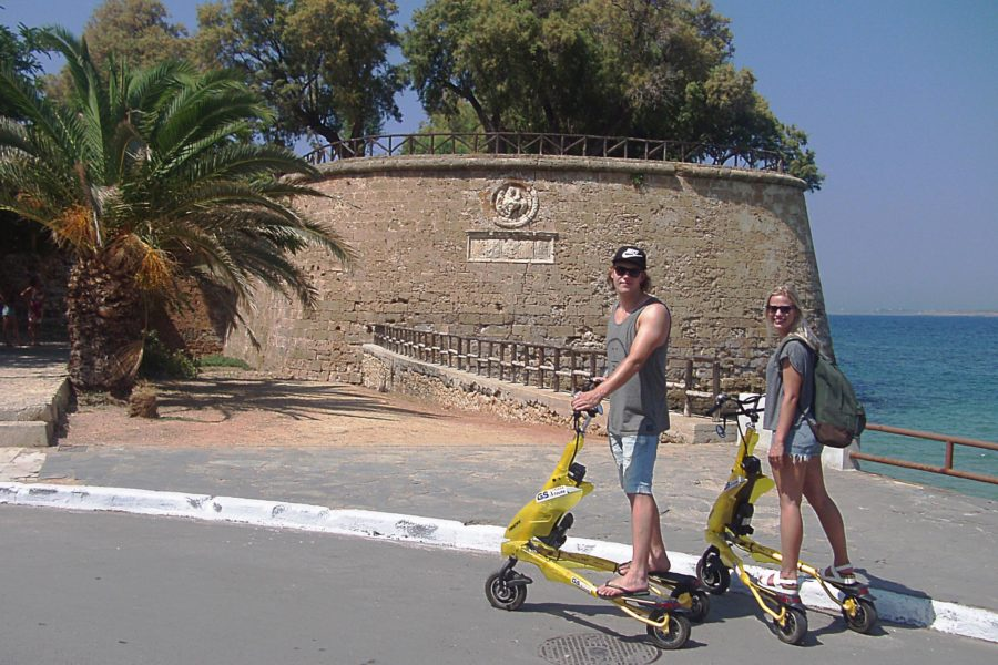 The Cretan Flavors Trikke City Tour